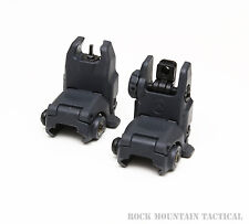 Magpul Industries MBUS Front & Rear Sight Set MAG247 & MAG248 GRY Stealth Gray