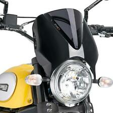 2015 Ducati Scrambler Puig Naked Sport Windscreen, Dark Smoke  7652F