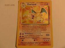 CHARIZARD CARTA POKEMON CARD HOLO RARA RARISSIMA 4/102 ITA ITALIANO NUOVA