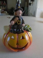 Buy Halloween Bewitching Candle Holder and Get Jolly Jack O'Lantern Candle Free