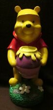 Disney Winnie the Pooh with a Hunny Pot Garden Statue Gnome Factory 10inch NEW