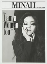 Mina, Minah - I Am a Woman Too (Mini Album) [New CD] Asia - Import (L4)