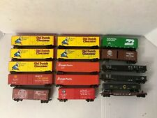 A8-Mixed Tyco, Bachmann HO Scale Freight Cars Lot