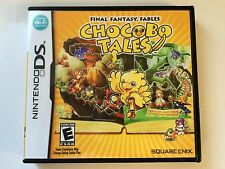 Chocobo Tales - Nintendo DS - Replacement Case - No Game