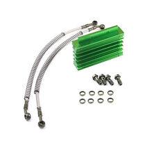 CNC Engine Oil Cooler Kit Radiator 125cc 140 150cc PIT PRO Trail Dirt Bike Green