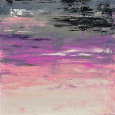 """TABLEAU ABSTRAIT PEINTURE/TOILE original signé HZEN, Paysage, """"UN SILENCE"""" 60x60"""