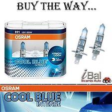 OSRAM LAMPADE 64150CBI DUO H1 12V 55W ATTACCO P14,5s COOL BLUE INTENSE COPPIA