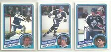 1984-85 O-Pee-Chee Hockey 20-card Toronto Maple Leafs Team Set  Borje Salming