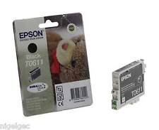 Epson T0611 TO611 t061140 encre noire originale