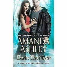 Desire the Night (2012) Amanda Ashley paperback Paranormal Romance