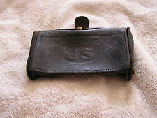 Antique 1904 Rock Island Arsenal Us Pouch Miltary