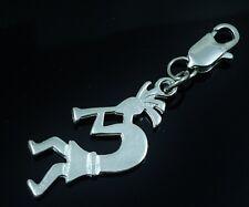 Kokopelli Clip On Charm fits Tradional style Bracelet