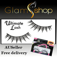 FALSE EYELASHES Reusable fake eyelashes strip lashes with glue FREE POSTAGE!
