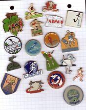 Lot de  19 pin's sports athletisme