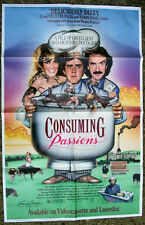 CONSUMING PASSIONS VIDEO MOVIE POSTER 1988 VANESSA REDGRAVE JONATHAN PRYCE FUN