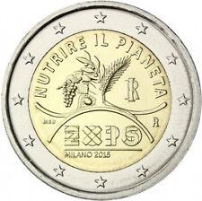 "2 euro commémorative  2015 Italie ""NEUVE UNC"" Milan"