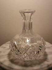 Brilliant Period Cut Glass Carafe Signed Hawkes