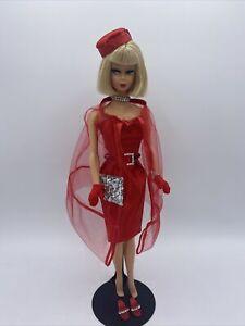 BLONDE AMERICAN GIRL Barbie VINTAGE Reproduction W/ OOAK BLACK MAGIC IN RED