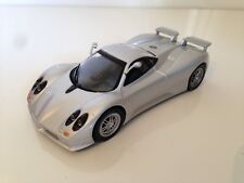 PAGANI ZONDA C12S Silver Part Works New 1:43 Blister Pack