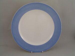 "VILLEROY & BOCH TIPOBLUE 10 1/2"" DINNER PLATE."