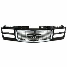NEW Chrome Black Grille 1994-2002 GMC C/K 2500 3500 Yukon GM1200392 SHIPS TODAY