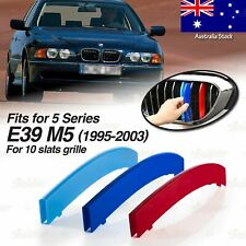 M-Performance 10 BAR Kidney Grille 3 Color Cover Clip for BMW 5 Ser E39 M5 95-03