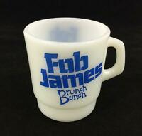Vintage Fob James Brunch Bunch Coffee Mug Cup Alabama Governor Politics