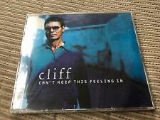 CLIFF RICHARD - CAN'T KEEP THIS FEELING IN CD SINGLE 1 TRACK PROMO SEALED EMI 98