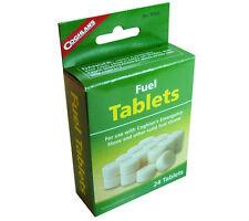 Solid Fuel Coghlans Hexamine Tablets 24 pack for Pocket Stove or Fire Starter