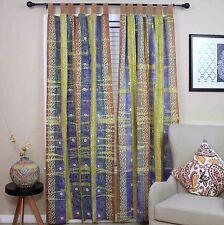 Handmade Celtic Batik Tie Dye Tab Top 100% Cotton Curtain Drape Panel 44x60 Inch