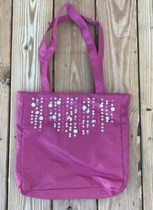 Cato Shopping Handbag Pink Hand Bag Sequins Fancy Shopping Bag w/ magnetic snap