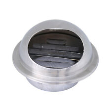 Stainless Steel Wall Air Vent Ducting Ventilation Exhaust Grille Cover Outlet-CA