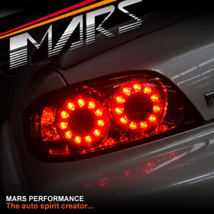 JDM FE 2 Style Smoked LED Tail Lights for MAZDA RX-8 FE Series 1 2004-2008