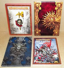 4 WARHAMMER BOOKS ONLINE PRELUDE TO WAR THE ART OF THE EMPIRE GAME OF FANTASY