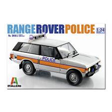 Italeri policía Range Rover 3661 1:24 Coche Modelo Kit