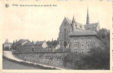 BR55817 Ciney eglise et rue des capucins au quartier St Roch belgium