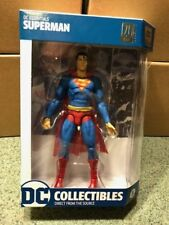 Dc Collectibles 20th Ann  DC ESSENTIALS SUPERMAN  6.75 inch action figure NEW !