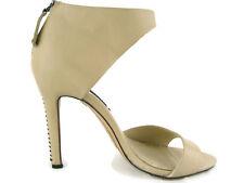 Alice+Olivia Gretchen DressHeels OpenToe Womens Shoes,Bone,New,6-6.5US/37EU,0386