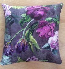 "Designers Guild Tulipani Amethyst Cushion Cover 17"" BN"