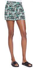 NWT Pam & Gela Printed Elastic Waist Relaxed Short Size Petite