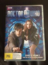 Doctor Who - Series 5 -Volume 1 DVD - Matt Smith,Karen Gillan - Region 4