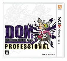 Dragon Quest Monsters Joker 3 Professional 3Ds Japan Used
