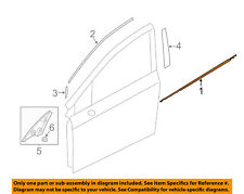 SUBARU OEM Impreza-Door Window Sweep-Belt Molding Weatherstrip Left 61280FJ011