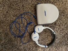 Bose SoundTrue on-ear Headband Headphones - White and Blue