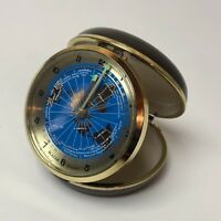Bulova Quartz World Travel Alarm Clock - Working