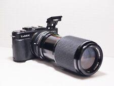 80-200mm= lens 160-400mm on LUMIX G HD 4K Micro 4/3 Digital PEN GH2 G6 G5 G3 GM1