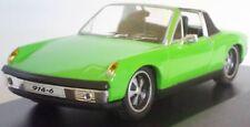 PORSCHE 914-6 CABRIOLET 1970 HIGHSPEED BOITE 1/43 VERDE GREEN VERTE GRUN