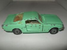 CORGI No 325 FORD MUSTANG 2+2 V GOOD PLAYWORN UNBOXED CONDITION