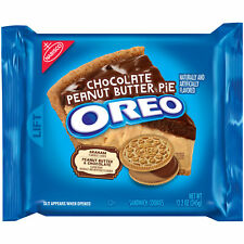 Oreo Chocolate Peanut Butter Pie Sandwich Cookies, 12.2 Oz