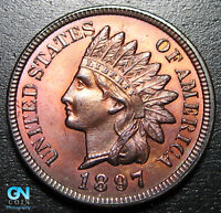 1897 Indian Head Cent Penny  --  MAKE US AN OFFER!  #P9516